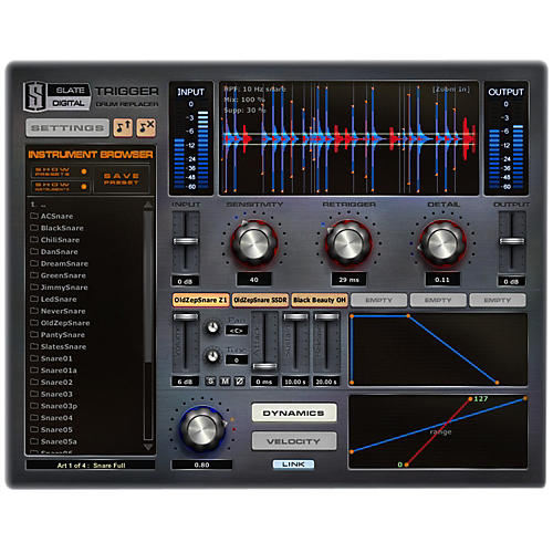 Steven Slate Audio Trigger Platinum Drum Replacement Software Download