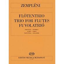 Editio Musica Budapest Trio EMB Series Composed by László Zempléni
