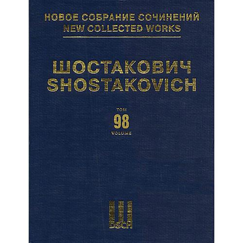 DSCH Trio No. 1, Op. 8 & Trio No. 2, Op. 67 DSCH Series Hardcover Composed by Dmitri Shostakovich
