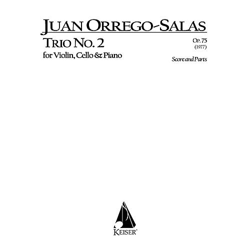 Lauren Keiser Music Publishing Trio No. 2, Op. 75 (Piano, Violin, Cello) LKM Music Series Composed by Juan Orrego-Salas