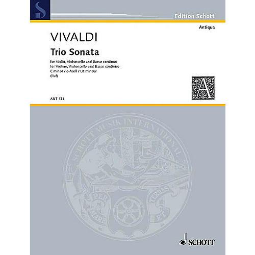 Schott Music Trio Sonata C Minor RV 83 Schott Series Composed by Antonio Vivaldi Arranged by Hugo Ruf