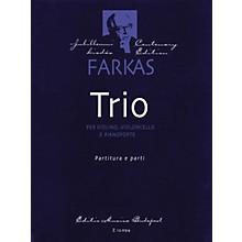 Editio Musica Budapest Trio (Violin, Violoncello and Piano) EMB Series Composed by Ferenc Farkas