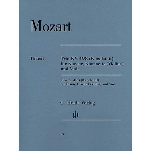 G. Henle Verlag Trio in E-flat Major K. 498 (Kegelstatt) Henle Music Folios Series Softcover