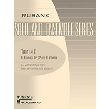 Rubank Publications Trio in F (Woodwind Trio - Grade 3) Rubank Solo/Ensemble Sheet Series