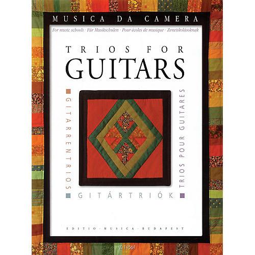 Editio Musica Budapest Trios for Guitars (for Music Schools) EMB Series