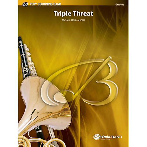 Alfred Triple Threat Concert Band Grade 0.5