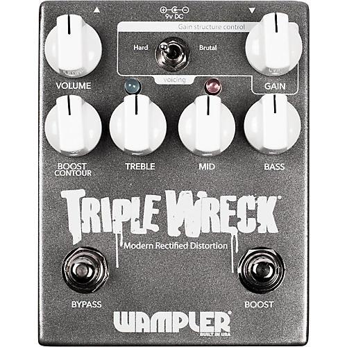 Wampler Triple Wreck Distortion Pedal