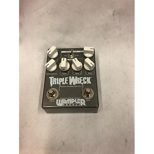 Wampler Triple Wreck Modern Rectified Distortion Effect Pedal