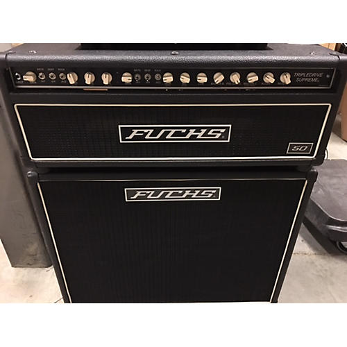 Fuchs Tripledrive Supreme 50 W/2x12 Cab And Footswitch Guitar Cabinet