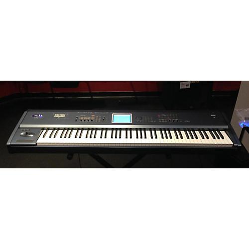 used korg triton extreme 88 key keyboard workstation guitar center. Black Bedroom Furniture Sets. Home Design Ideas