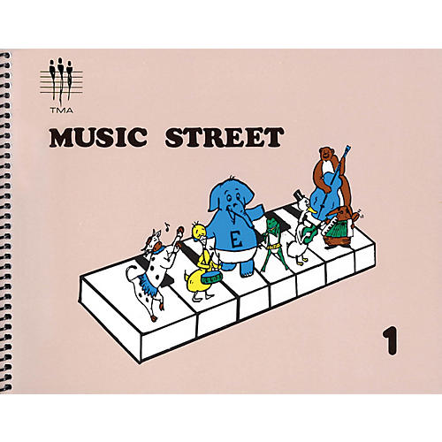 Hal Leonard Tritone Music Street - Book 1 Piano Method Series Softcover Written by Various Authors