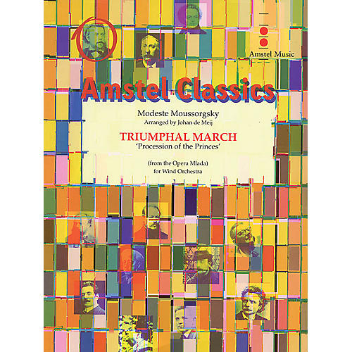Amstel Music Triumphal March from Mlada (Procession of the Princes) (Score Only) Concert Band by Johan de Meij