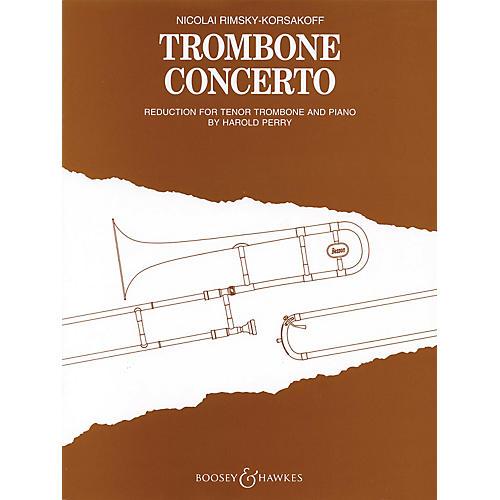Boosey and Hawkes Trombone Concerto (Trombone and Piano) Boosey & Hawkes Chamber Music Series by Nikolai Rimsky-Korsakoff
