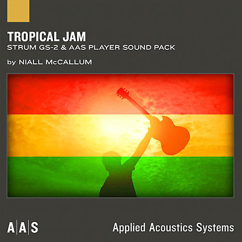 Applied Acoustics Systems Tropical Jam - Sound Pack for Strum GS-2