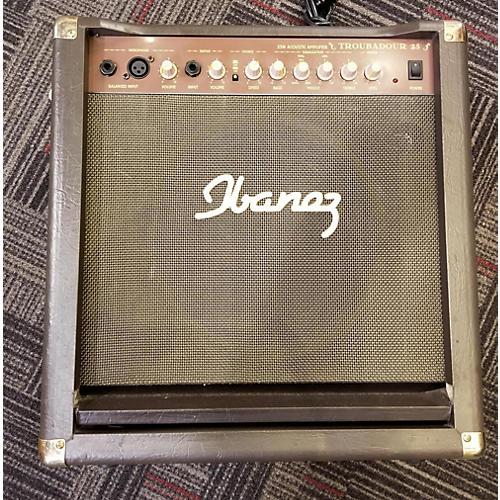 Ibanez Troubador 25w Acoustic Amp Acoustic Guitar Combo Amp