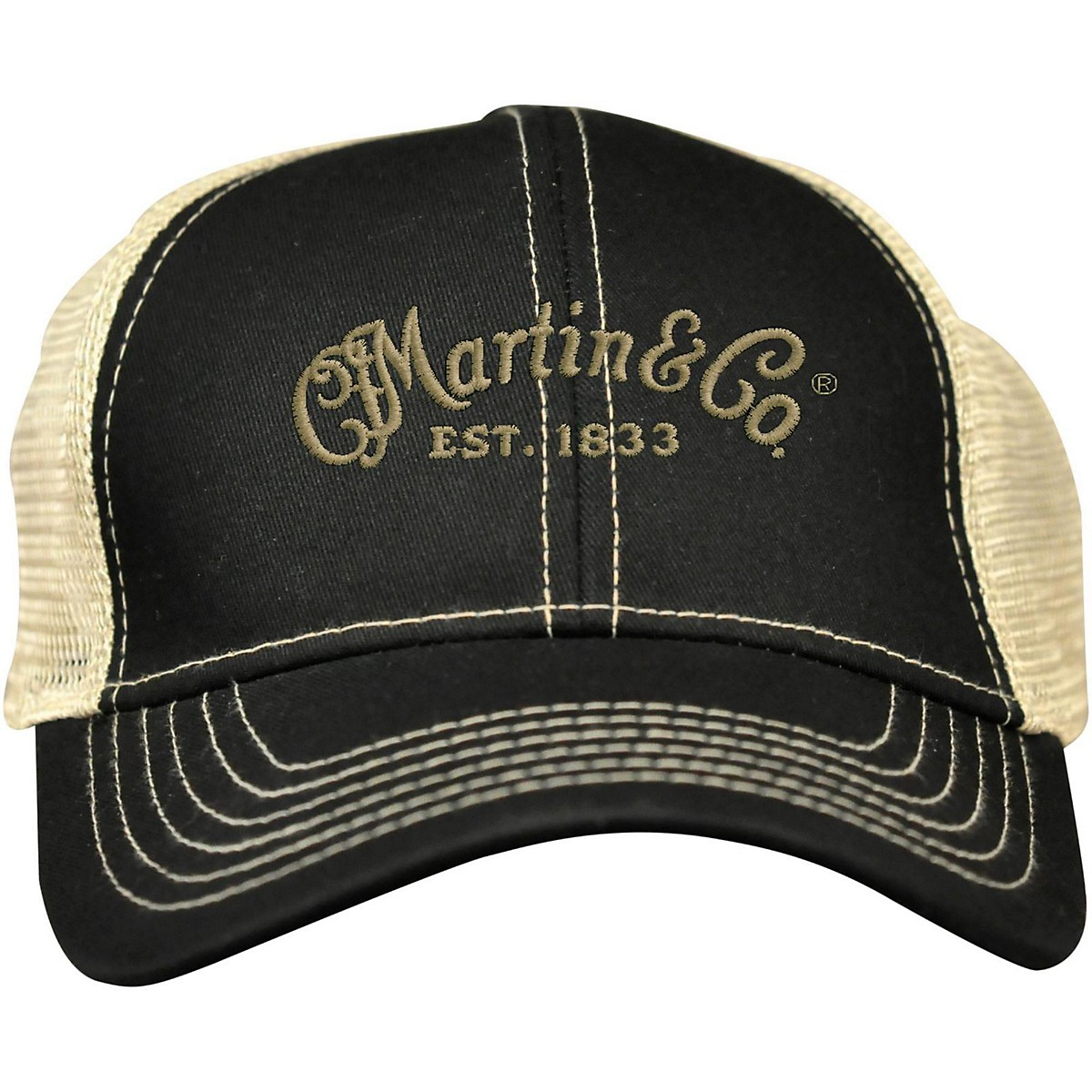 Martin Trucker Hat with Tan Mesh