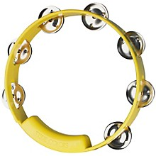 True Colors Tambourine Yellow 8 in.