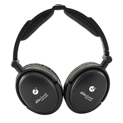 Able Planet True Fidelity NC180B Around the Ear Foldable Noise Canceling Headphones
