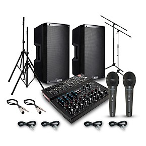 alto truesonic ts212 with harbinger l1202fx pa system guitar center. Black Bedroom Furniture Sets. Home Design Ideas