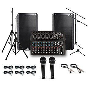 alto truesonic ts212 with harbinger l1402fx pa system guitar center. Black Bedroom Furniture Sets. Home Design Ideas
