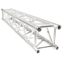 "TRUSST Trusst 12"" Straight Box Truss Segment, Includes 1 Set of Connectors Level 1 6.6 ft."