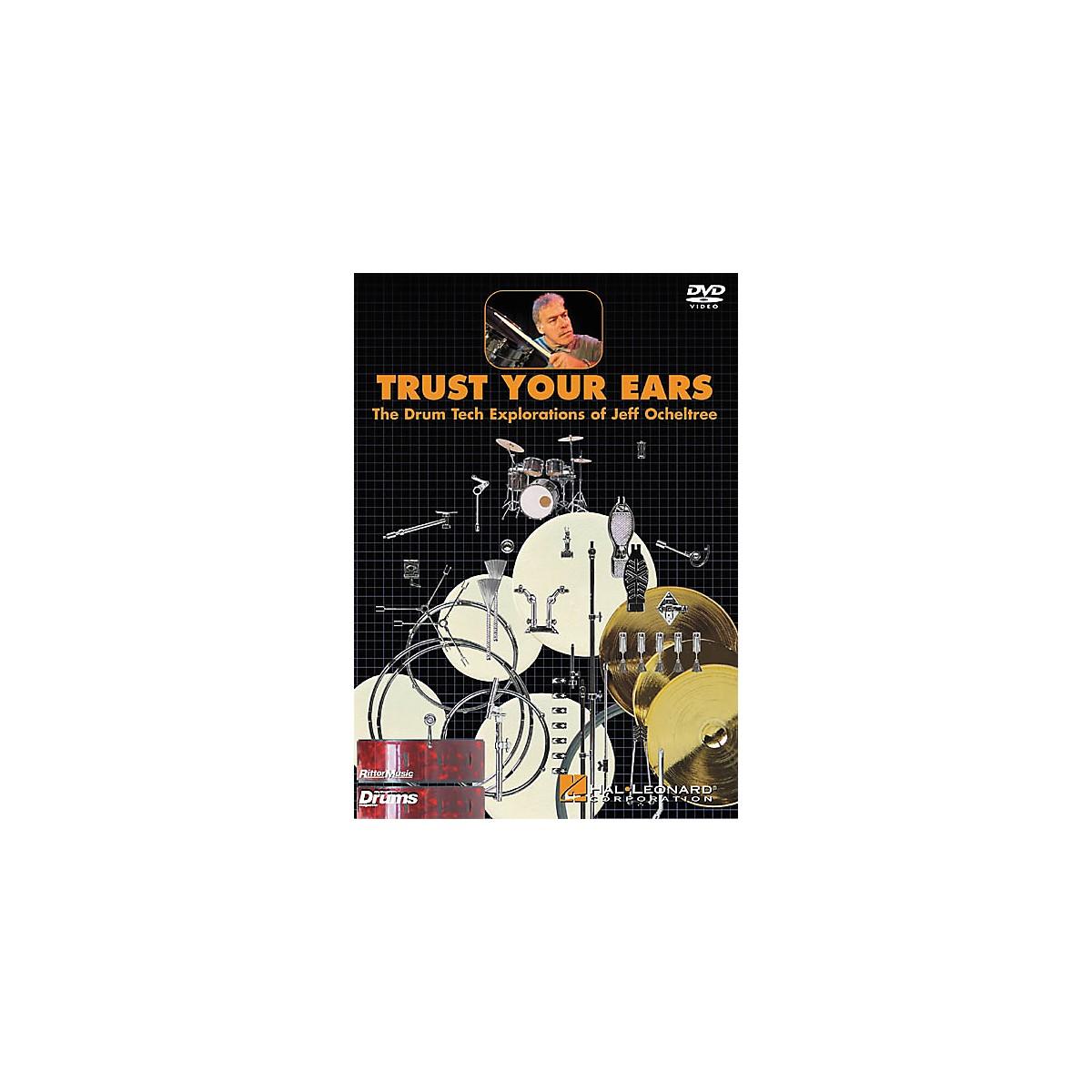 Hal Leonard Trust Your Ears: The Drum Tech Explorations of Jeff Ocheltree (DVD)