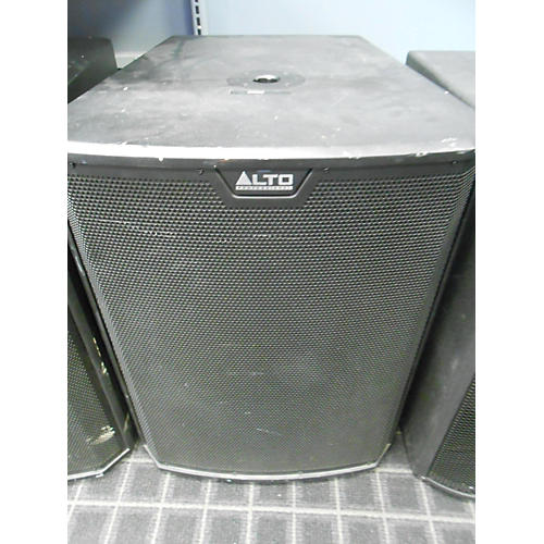 used alto ts218s powered subwoofer guitar center. Black Bedroom Furniture Sets. Home Design Ideas