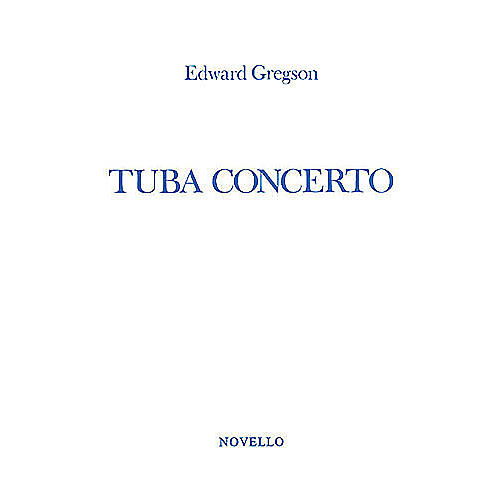 Novello Tuba Concerto (Tuba in C (B.C.) with Piano Reduction) Music Sales America Series