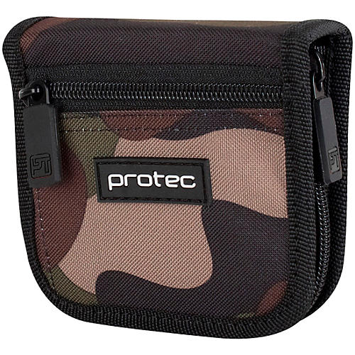 Protec Tuba Mouthpiece Pouch With Zipper Closure (2-Piece)