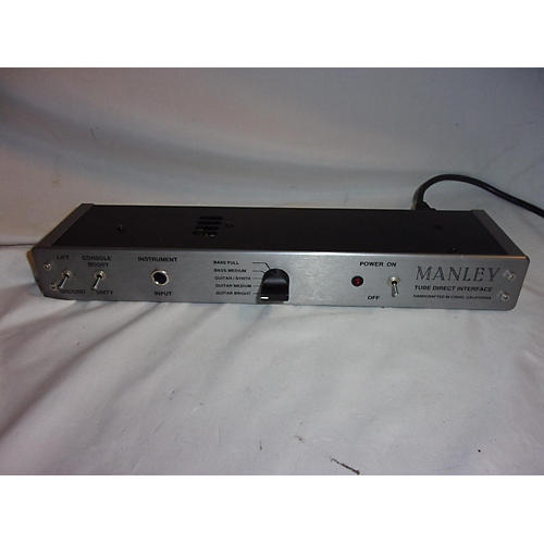 Manley Tube Direct Interface Direct Box