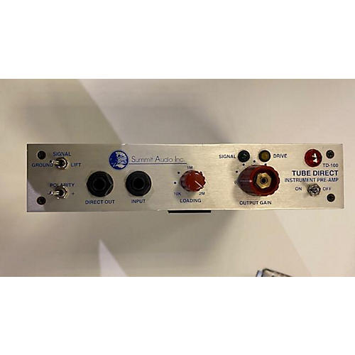 Summit Audio Tube Direct Td-100 Direct Box