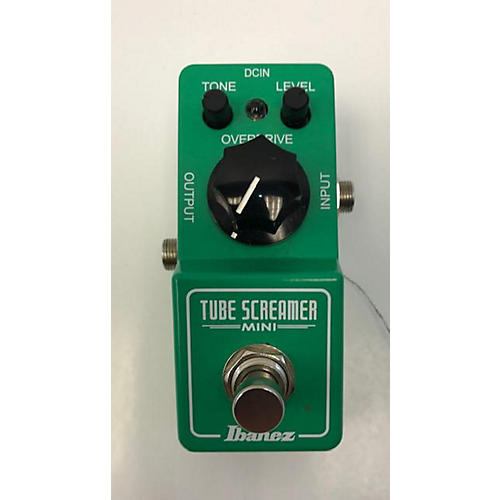 used ibanez tube screamer mini effect pedal guitar center. Black Bedroom Furniture Sets. Home Design Ideas