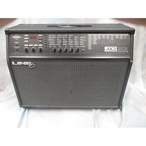 Line 6 Tubetone Ax2 2x12 Black Guitar Combo Amp