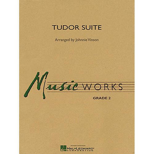 Hal Leonard Tudor Suite Concert Band Level 2 Arranged by Johnnie Vinson