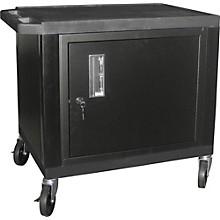 "H. Wilson Tuffy Plastic 26"" 2-Shelf Cart/Cabinet"