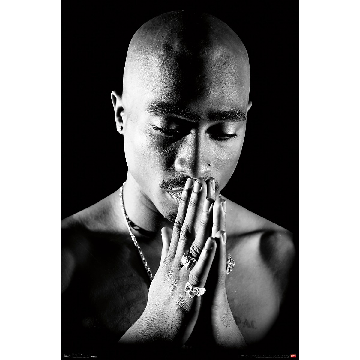 Trends International Tupac - Praying Poster
