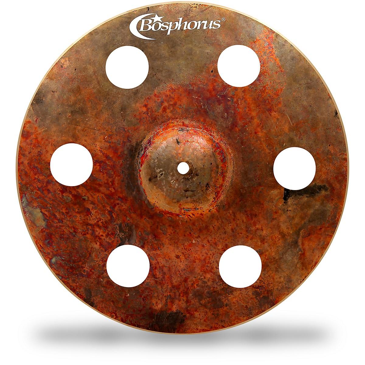 Bosphorus Cymbals Turk Fx Crash with 6 Holes