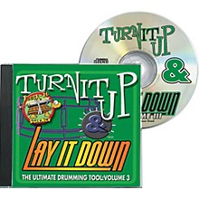 Drum Fun Inc Turn It Up and Lay It Down, Volume 3 - Rock-It Science - Play Along CD for Drummers