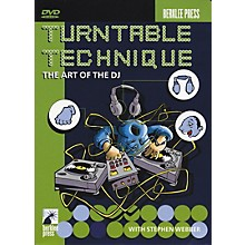 Berklee Press Turntable Technique The Art of The DJ DVD