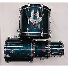 Premier Turquoise Drum Set Drum Kit
