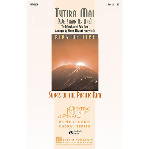 Hal Leonard Tutira Mai (We Stand As One) 2-Part