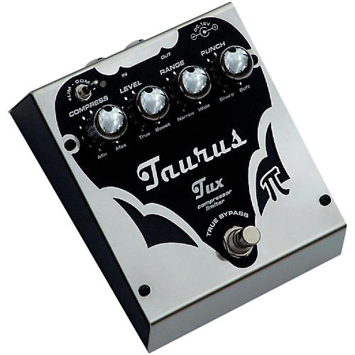 Taurus Tux Silver Line Compression Effects Pedal