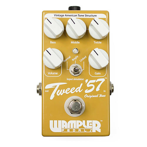 Wampler Tweed '57 Vintage Overdrive Guitar Effects Pedal