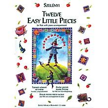 Editio Musica Budapest Twelve Easy Little Pieces EMB Series by István Szelényi