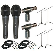 Audio-Technica Twelve Piece Mic Package