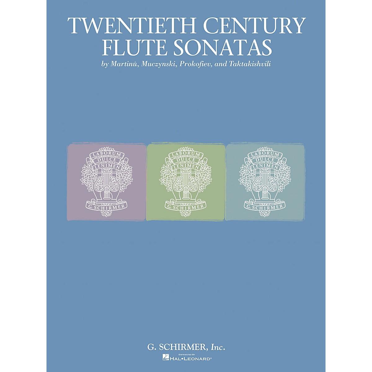 G. Schirmer Twentieth Century Flute Sonata Collection Woodwind Solo Series