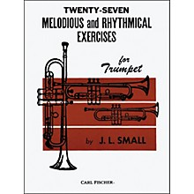 Carl Fischer Twenty-Seven Melodious And Rhythmical Exercises