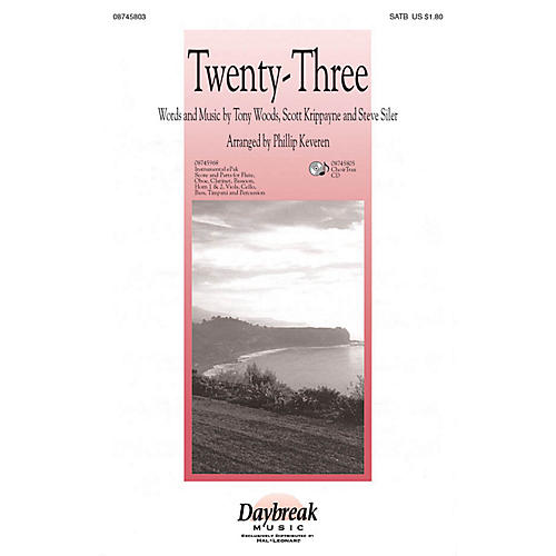 Daybreak Music Twenty-Three (The Lord Is My Shepherd) CHOIRTRAX CD Arranged by Phillip Keveren