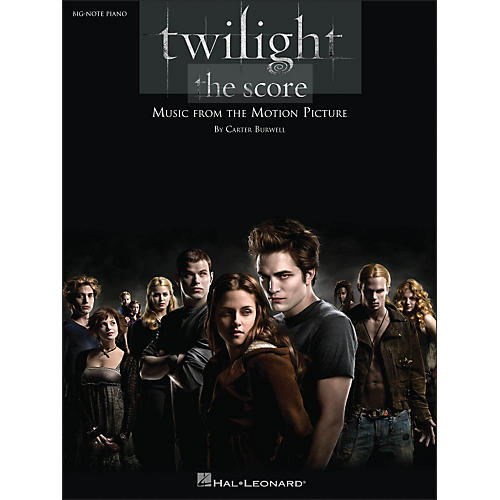 Hal Leonard Twilight Music From The Motion Picture Score for Big Note Piano