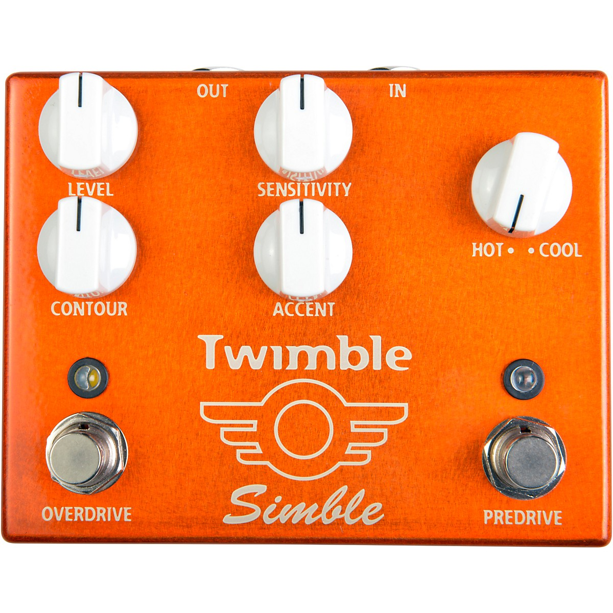 Mad Professor Twimble Predrive and Overdrive Effects Pedal